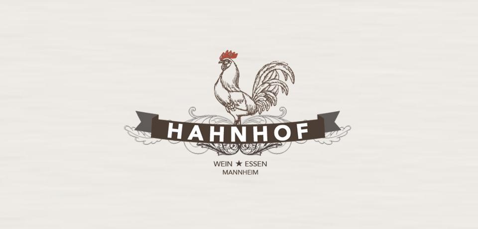 Hahnhof Logo Design